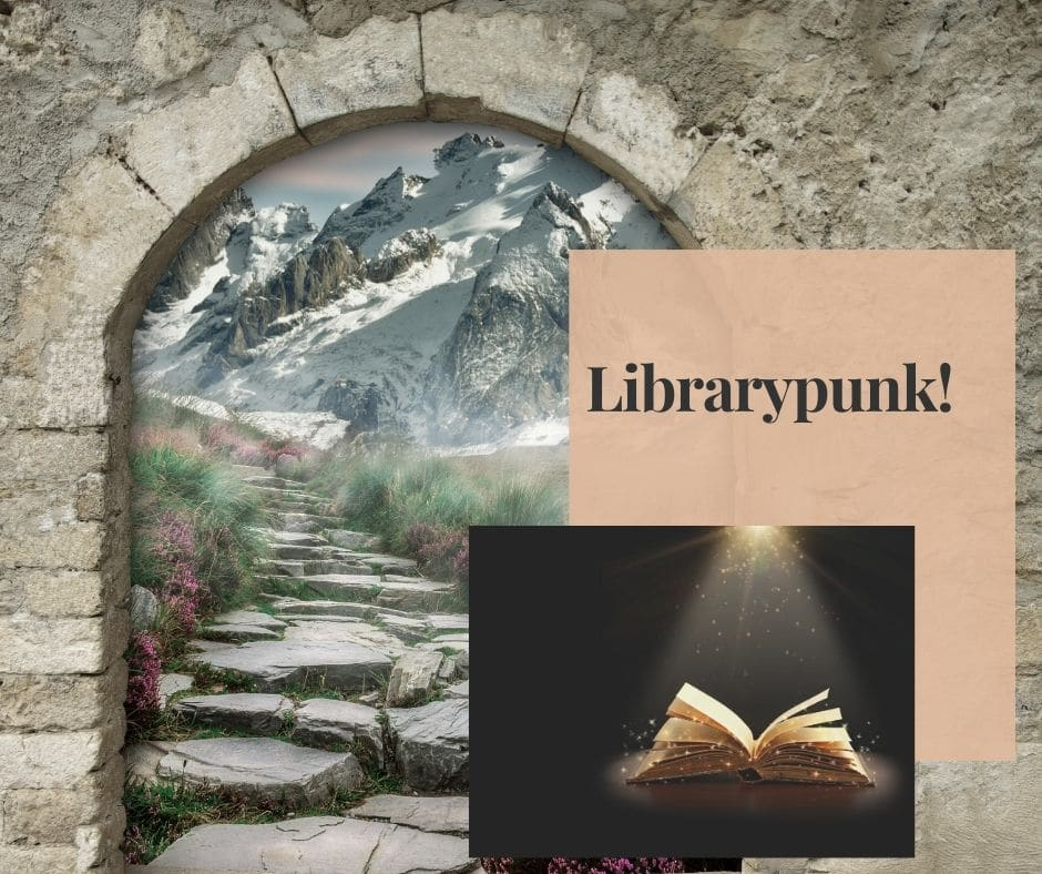 Librarypunk is growing in volumes as new books celebrate libraries as portals to magical worlds.
